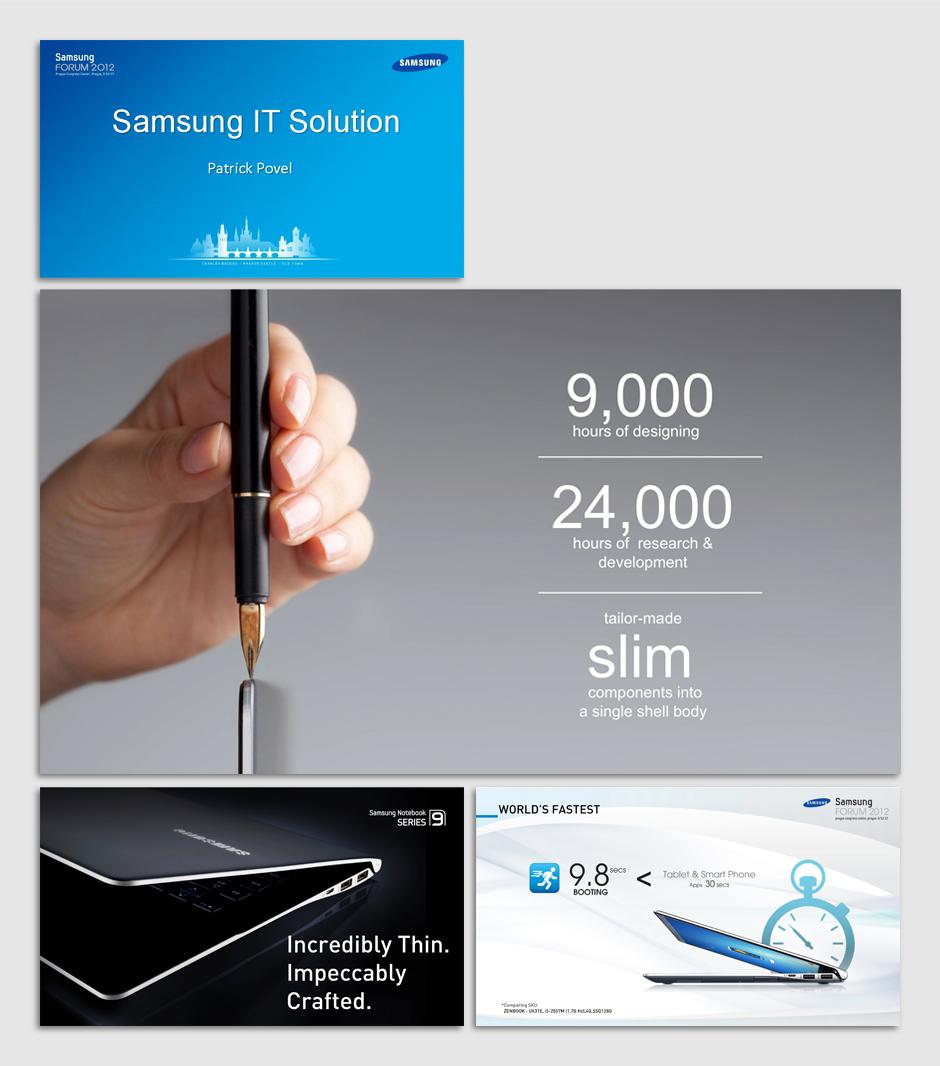 2012 삼성전자 IT솔루션 노트북 홍보